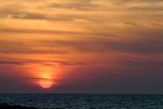 Red sunse Stock Photography