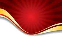 Red Sunshine Royalty Free Stock Photos