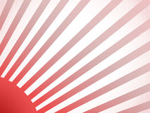 Red sunshine. Wallpaper inspirated by Japan flag Royalty Free Stock Image