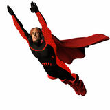 Red super hero #2 Royalty Free Stock Image
