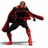 Red super hero #3 Royalty Free Stock Photography
