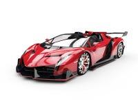 Red Super Racecar. Studio Shot Stock Photo