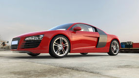 Red Supercar Stock Images