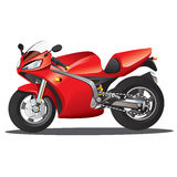 Red Supersport Cartoon Stock Photo