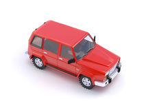 Red SUV Royalty Free Stock Photo