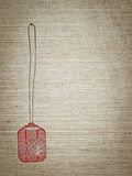 Red swatter Stock Image
