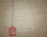 Red swatter Royalty Free Stock Photo