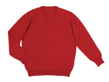 Red sweater Stock Images