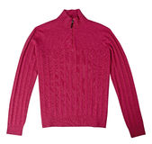 Red sweater isolated Royalty Free Stock Photos