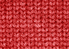 Red sweater wool pattern Stock Photos