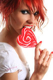 Red and sweet Stock Photos