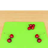 Red Sweet Cherries Royalty Free Stock Photos