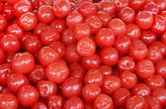 Red sweet cherries Stock Photography