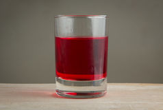Red sweet drink Royalty Free Stock Images