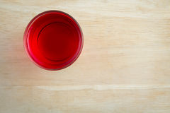 Red sweet drink Stock Photos