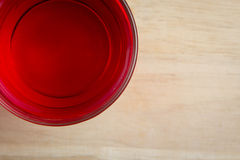 Red sweet drink Royalty Free Stock Image