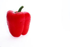 Red sweet pepper. On the table Royalty Free Stock Images