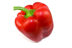 Red sweet pepper Stock Image