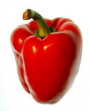 Red sweet pepper Royalty Free Stock Photo