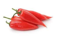 Red sweet pepper looks like jalapeno Royalty Free Stock Photos