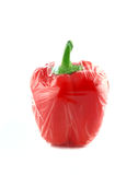 Red sweet pepper Stock Images