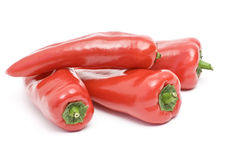 Red sweet peppers Royalty Free Stock Photo