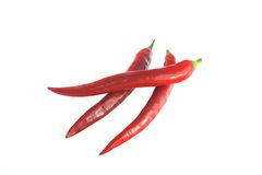 Red sweet pointed peppers. Royalty Free Stock Photo
