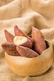 Red sweet potato Royalty Free Stock Photos