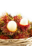 Red sweet rambutan Royalty Free Stock Photography