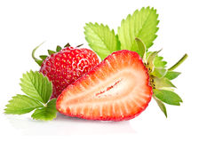 Red sweet strawberry Royalty Free Stock Image