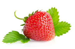 Red sweet strawberry Stock Image