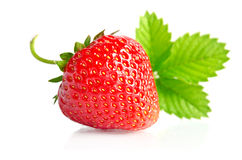 Red sweet strawberry Stock Photo