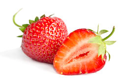 Red sweet strawberry Royalty Free Stock Photography