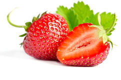 Red sweet strawberry Royalty Free Stock Images
