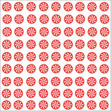 Red Sweets and candy white background vector EPS10 Royalty Free Stock Photos