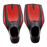 Red swim fins Stock Photography