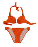 Red swimsuit Royalty Free Stock Images