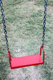 Red swing Royalty Free Stock Images