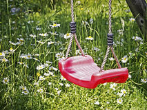 Red swing Stock Images