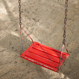 Red swing Royalty Free Stock Photo