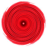 Red swirl spiral abstract background Stock Photography