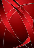 Red swish Royalty Free Stock Image