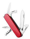 Red Swiss Army Knife Stock Photography