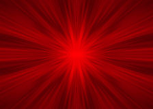 Red symmetrical rays Royalty Free Stock Image