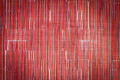 Red synthetic fabric pattern Royalty Free Stock Photo