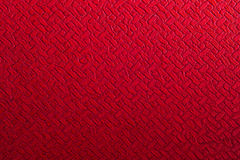 Red synthetic leather background Stock Image