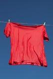 Red t-shirt. Stock Photo