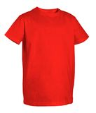 Red t-shirt Royalty Free Stock Images