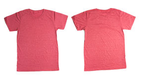 Red t-shirt Stock Images
