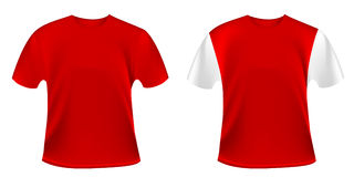 Red t-shirts Royalty Free Stock Photos